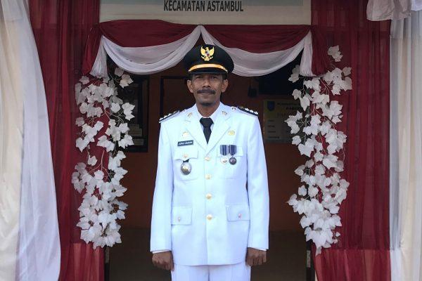 Camat Astambul Drs. Jurji Zaidan, M.Si